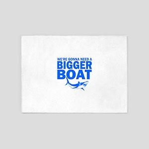 BiggerBoatJaws 5'x7'Area Rug