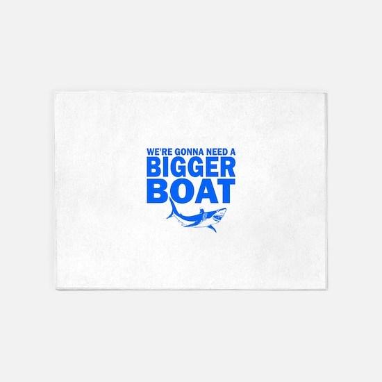 BiggerBoatJaws.png 5'x7'Area Rug