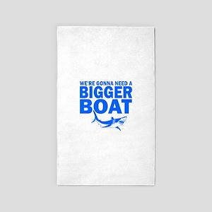 BiggerBoatJaws Area Rug