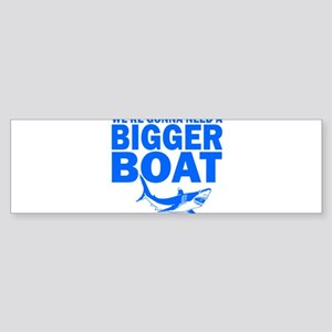 BiggerBoatJaws Bumper Sticker