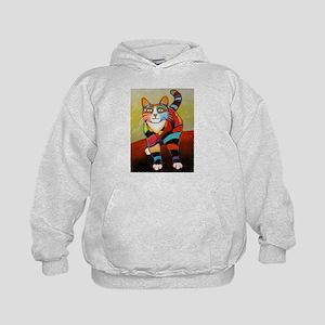 New Cat of Many Color Sweatshirt