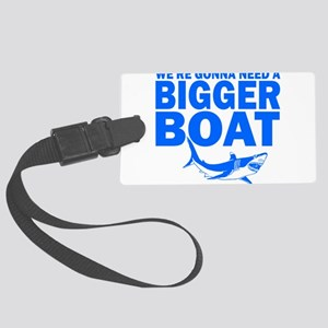 BiggerBoatJaws Luggage Tag