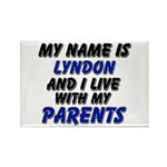my name is lyndon and I live with my parents Recta
