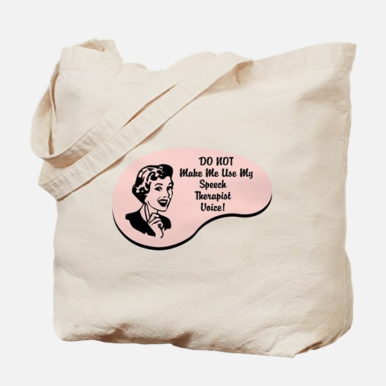 Speech Therapist Voice Tote Bag