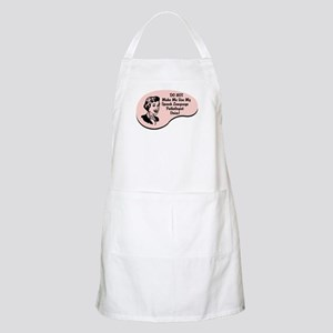 Speech Language Pathologist Voice BBQ Apron