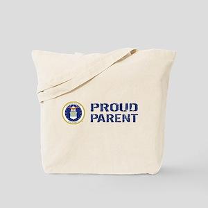 USAF: Proud Parent Tote Bag