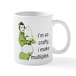 I'm so crafty, I make multiples Mug