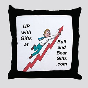 Bull And Bear Gifts Sample of Throw Pillow