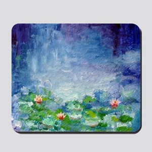"""Waterlilies"" Mousepad"