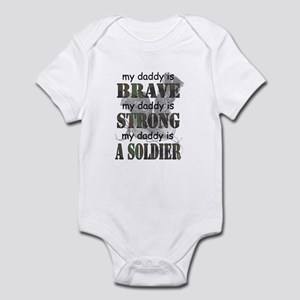 My Daddy is a Soldier Infant Bodysuit