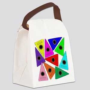 Rainbow Psaltery Canvas Lunch Bag