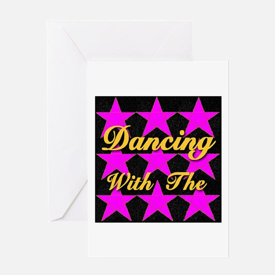 Dancing With The Stars Greeting Card