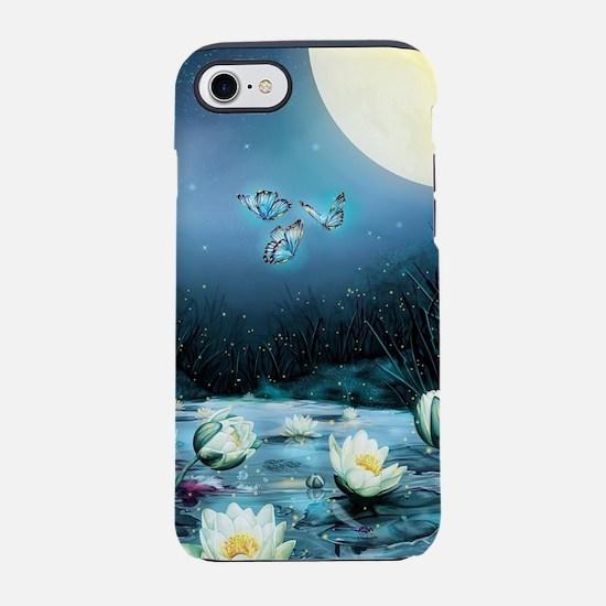 Lotus Pond iPhone 7 Tough Case