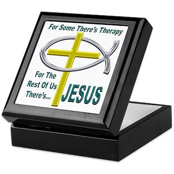 Jesus Therapy Keepsake Box