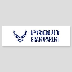 USAF: Proud Grandparent Sticker (Bumper)