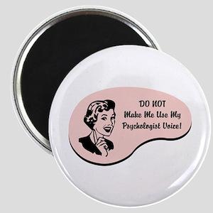 Psychologist Voice Magnet