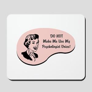 Psychologist Voice Mousepad
