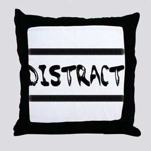 Distract Triplets Throw Pillow