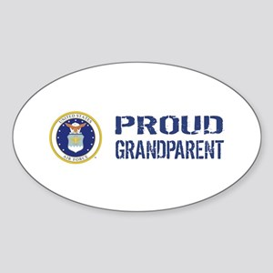 USAF: Proud Grandparent Sticker (Oval)