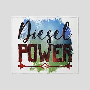 Diesel Power Throw Blanket