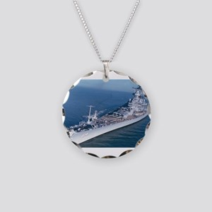 BB 64 Ships Image Necklace Circle Charm