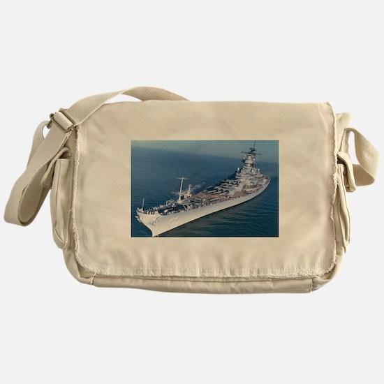 BB 64 Ships Image Messenger Bag