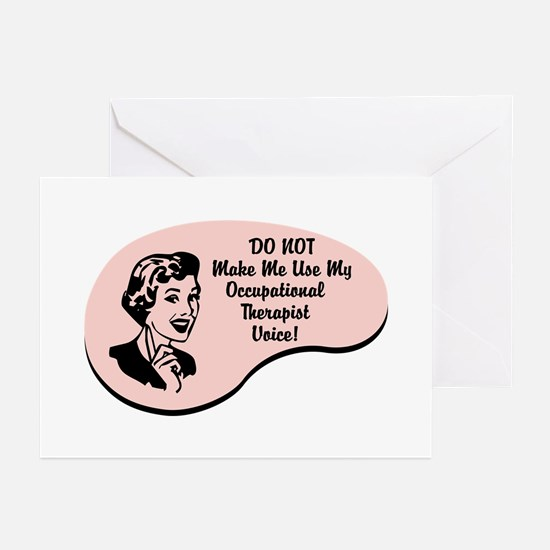 Occupational Therapist Voice Greeting Cards (Pk of