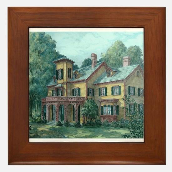 Acorn Hall - Morristown, NJ Framed Tile