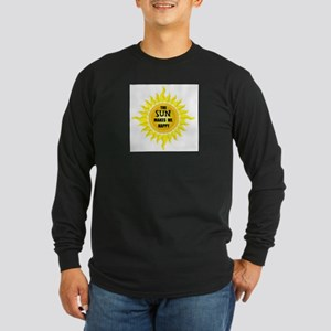 SUNSHINE Long Sleeve Dark T-Shirt