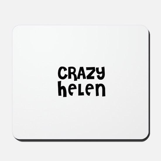 CRAZY HELEN Mousepad