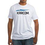 KARCOM Fitted T-Shirt