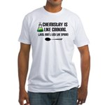 Chemistry Cooking Fitted T-Shirt