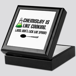 Chemistry Cooking Keepsake Box