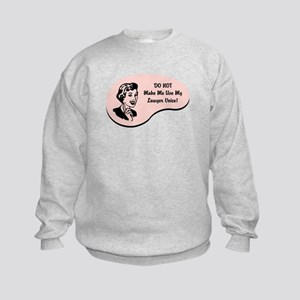 Lawyer Voice Kids Sweatshirt