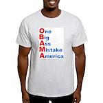 One Big Ass Mistake America Light T-Shirt