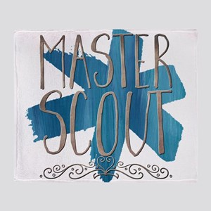 Master Scout Throw Blanket
