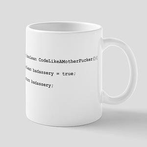 Code Like A Mother Fucker - White Mugs