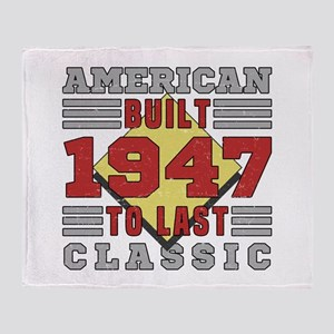 1947 American Classic Throw Blanket