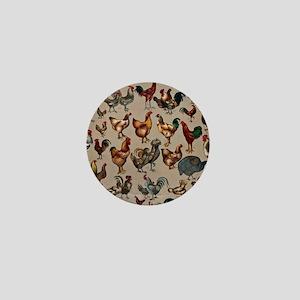 World Poultry Mini Button
