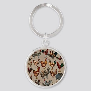 World Poultry Poster Keychains