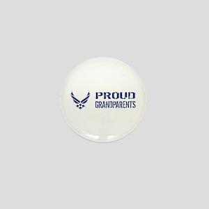 USAF: Proud Grandparents Mini Button