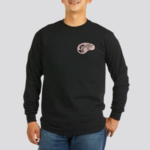 Human Resources Person Voice Long Sleeve Dark T-Sh