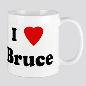 I Love Bruce Mug