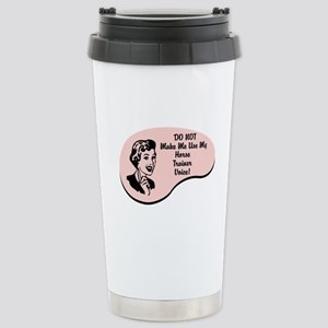 Horse Trainer Voice Stainless Steel Travel Mug
