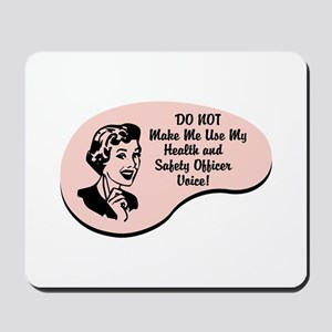 Health and Safety Officer Voice Mousepad