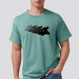 Sprintcars-4abreast Women's Dark T-Shirt