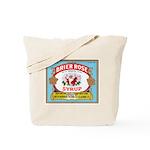 Vintage Syrup Label Tote Bag