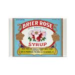Vintage Syrup Label Rectangle Magnet (100 pack)