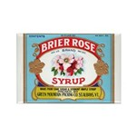 Vintage Syrup Label Rectangle Magnet