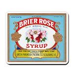 Vintage Syrup Label Mousepad